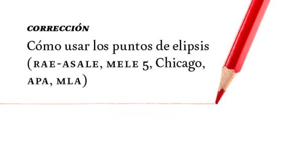 Cómo Usar Los Puntos De Elipsis Rae Asale Mele 5 Chicago